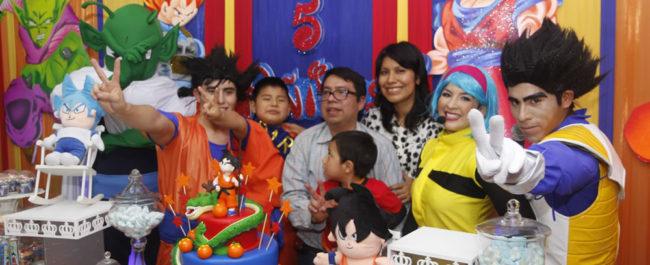 Dragon Ball Z – Cumpleaños de Darío