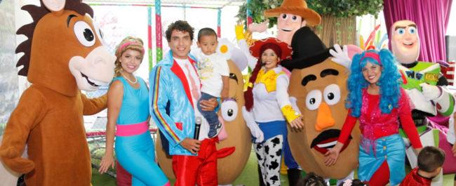 Diversión con Toy Story en la Fiesta de Ulito