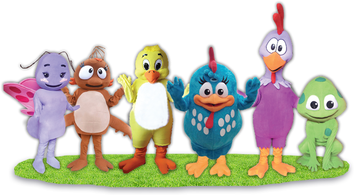 show-happy-kids-gallina-pintadita